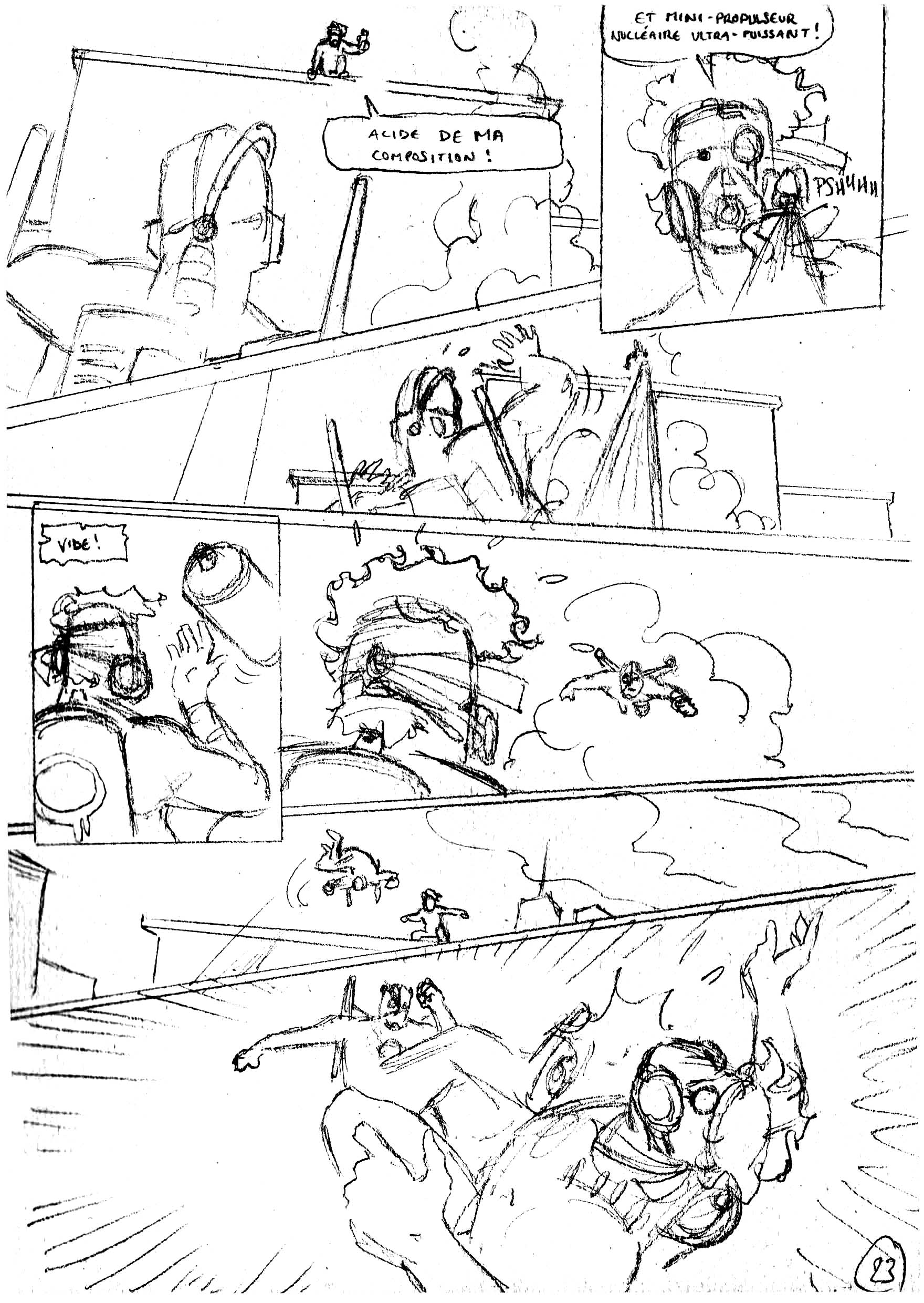 Pages de Storyboard