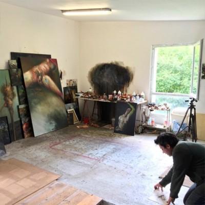 L'atelier d'artiste ou le secret gardé